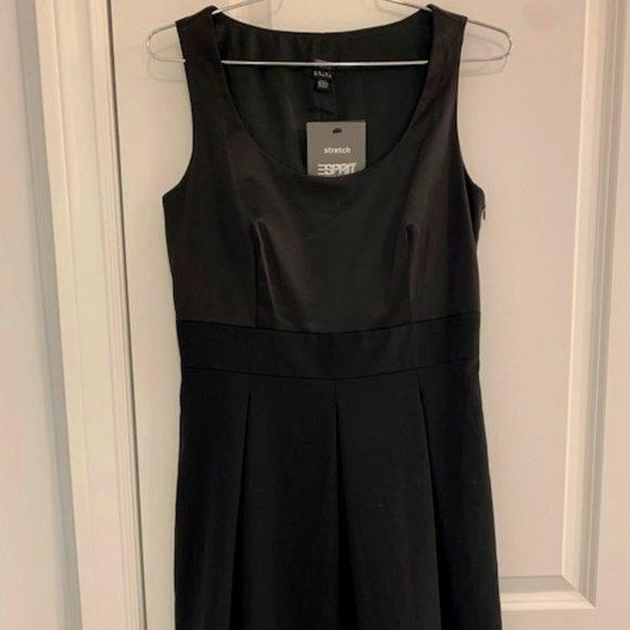 Esprit Melange Black Dress size 36, US 6, Small